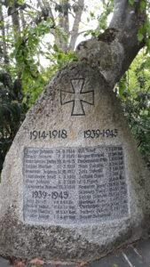 In Mitteleuropa haben vor allem die Weltkriege Spuren hinterlassen.